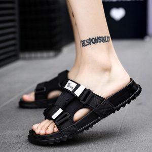 864903c980323 Black men slide – Sandals Manufacturers