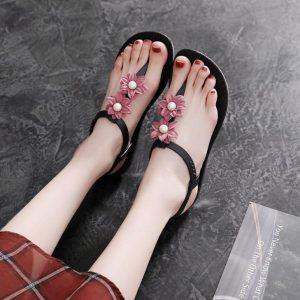 34cdd7037e991 Women flower flat sandals – Sandals Manufacturers